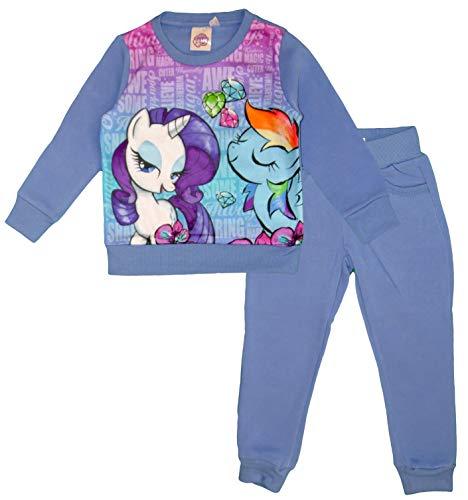 My little Pony Mädchen Jacke Gr. 6 Jahre, blau (Jacke Little Pony Mädchen My)