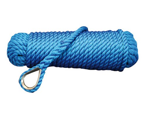 Superlene Ankerleine 10mm 20m Blau