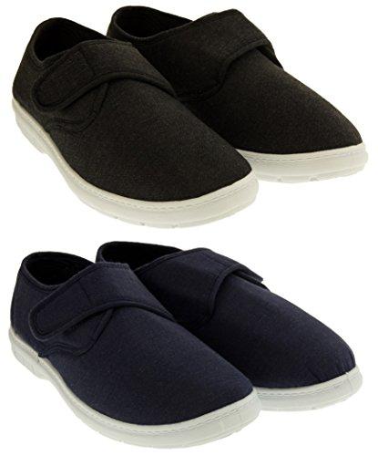 Footwear Studio Classics Hommes Toile Velcro Chaussures D'Été