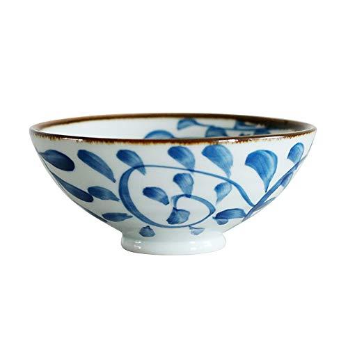 RKY Bol- Bol de riz maison à manger vaisselle en céramique créative style japonais couleur peint sous glaze bol de riz /-/
