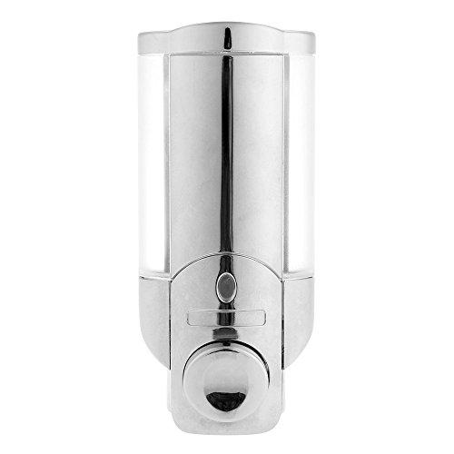 Sonline 210ml ABS Manual Press Soap Sanitizer Liquid Dispenser Lotion Pump Wall Mounted
