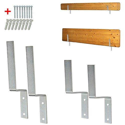 Wandhalterung für Biertischgarnitur-Set Biertischgarnitur Bierzeltgarnituren Tisch Bank Aufhängung...