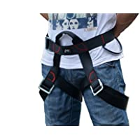 Climbing Harness, Guzila Safe Seat Belts For Mountaineering Outward Band Fire Rescue Working on the Higher Level Caving Rock Climbing Rappelling Equip by Guzila