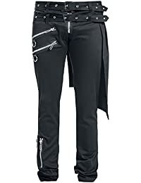 Graves Pant Slim Fit Pantalones Negro Vixxsin