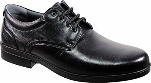 LUISETTI 26853 Negro - Zapato Cordones Piel Profesional