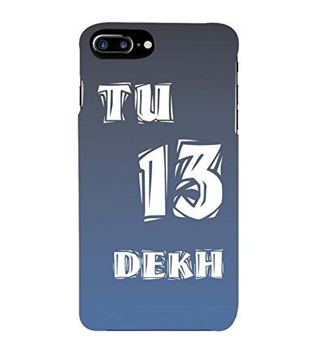 YuBingo Apple iPhone 7 Plus Designer Phone Back Case Cover ( Tu 13 Dekh )  available at amazon for Rs.297