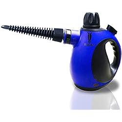Midas Upgrade Limpiadora a vapor portátil de alta presión y alta temperatura, quita manchas, arrugas y mata chinches, steam cleaner (mejorar)