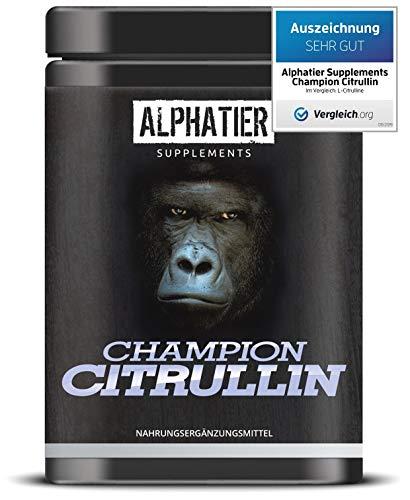 L-CITRULLIN Malat Pulver 1kg - höchste Dosierung & Reinheit - ALPHATIER CHAMPION L-Citrulline Malate DL 2:1 - Fitness und Bodybuilding - Premiumqualität aus Deutschland - 2x 500g