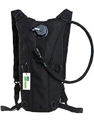 Crazo Paquete Mochila Carrier Con 2,5 litros agua Potable Aire libre Escalada Bicicleta