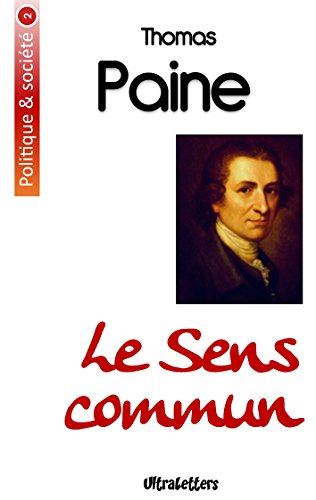 Le Sens commun par Thomas Paine