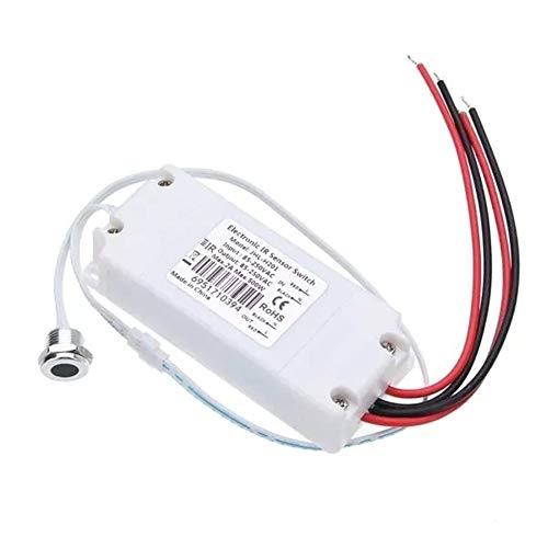 DASEXY AC 85-250 2A Hohe qualität berührungslose ir infrarot körper Motion Sensor EIN/aus lichtschalter for küche Spiegel Schrank licht tür kleiderschrank Sensor Palette max 150mm Komponenten