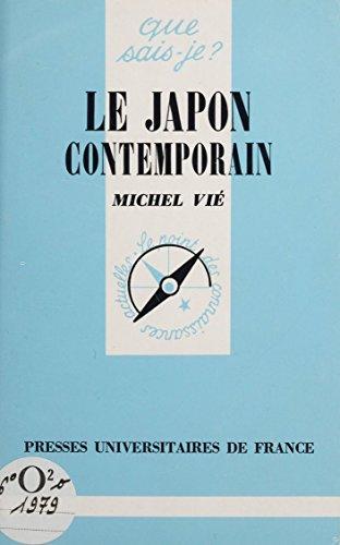 Le Japon contemporain