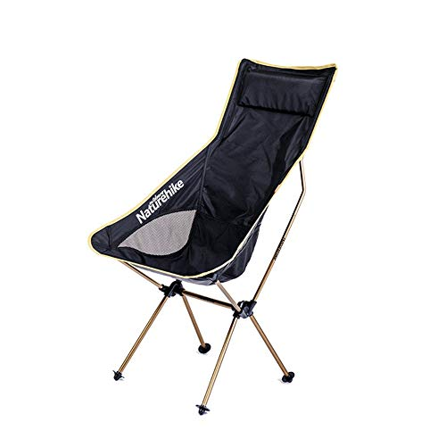 Ultralight Moon Chairs Tragbarer Gartenstuhl Angeln Der Direktor Seat - Champagner