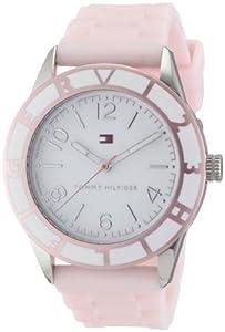 Reloj Tommy Hilfiger 1781185 de cuarzo para mujer con correa de silicona, color rosa de Tommy Hilfiger Watches