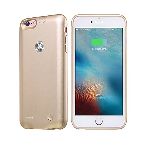 iPhone 6 /6S Battery Case 2500mAh Ultra Slim Charging Case Cover with High-Capacity Battery for iPhone 6 /6S ROOP (4.7