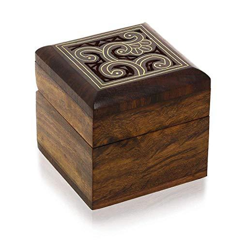 ine Box für Schmuck Ringe Ohrringe Manschettenknöpfe Zehenringe Geschenke ()