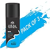 Deodrant For Men Cobra COOL Limited Edition Spray 150ml Pack Of 3