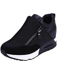 Culater Zapatillas de Deporte de Moda de Mujer Zapatos de Plataforma de Grueso