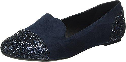 Another Pair of Shoes BelleE2, Damen Geschlossene Ballerinas, Blau (Dark Blue70), 41 EU (8 Damen UK)
