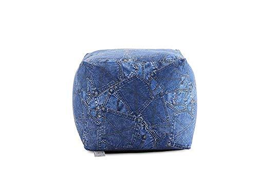 B.H.D Kevin Cube Original Cosy Sitzsack, Blau Jeans