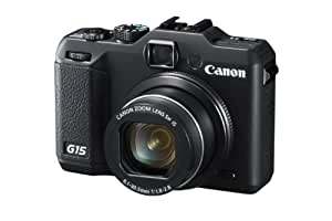 Canon PowerShot G15 Digitalkamera (12 Megapixel, 5-fach opt. Zoom, 7,6 cm (3 Zoll) LCD-Display, Full-HD, bildstabilisiert) schwarz