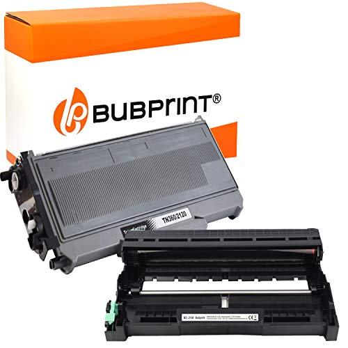Bubprint XXL Toner und Trommel kompatibel für Brother TN-2120 DR-2100 für DCP-7030 DCP-7040 DCP-7045N HL-2140 HL-2150N HL-2170 HL-2170W MFC-7320 MFC-7440N MFC-7840W