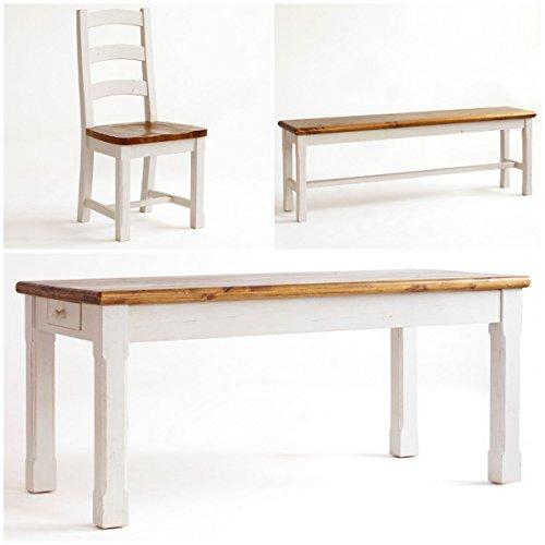 ᑕ❶ᑐ Essgruppe Essecke Massiv Holz BODDE Used Look Vintage ...