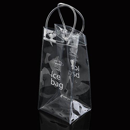 NUOLUX refrigeratore vino, Champagne vino Ice Bag Pouch Cooler Bag con manico