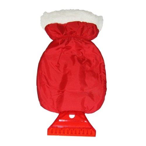 Veropa 6487Grattoir à glace avec gant de toilette, rouge/noir