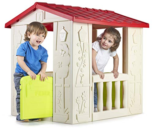 FEBER Happy House - Maison de jeux pour enfants de 2 à 6...