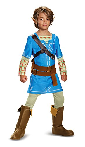 Link Kind Zelda Kostüm - Link Breath Of The Wild Deluxe Costume 7-8