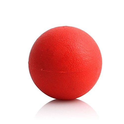 Viesky Robustes Rotes Ball-starkes Federnd Starkes Gummi-Hundekatzen-Haustier-Kaubiss-Spielzeug -