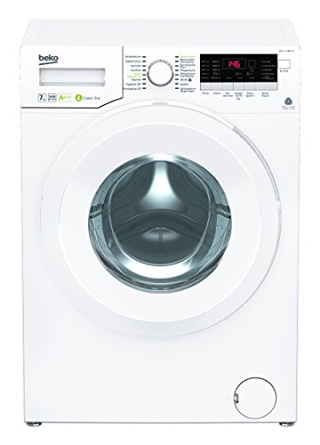 Beko WYA 71483 LE Waschmaschine Frontlader/A+++/1400 UpM/7kg/weiß/Mengenautomatik/Watersafe+/Aquawave Schontrommel/besonders leise