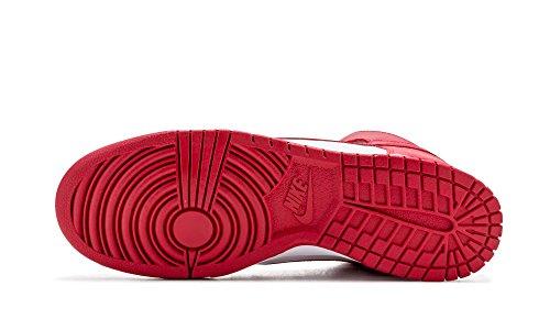 Nike Herren 850477-101 Turnschuhe white university red 102
