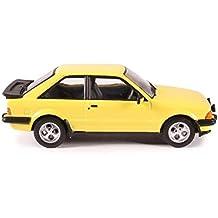 Ford Escort Mk3 XR3 Prairie Yellow Prebuilt Model
