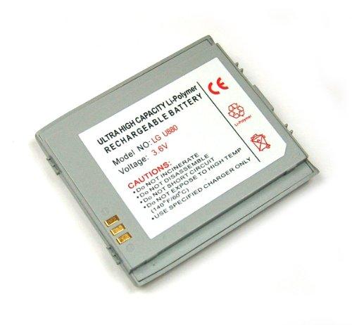 OTB Akku kompatibel zu LG U880 Li-Polymer silber