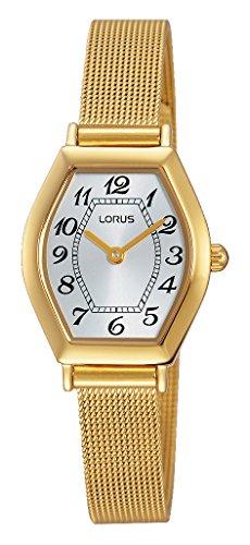 Relojes Lorus Damen-reloj analógico de cuarzo chapado en acero inoxidable RRW76EX9