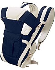 YAZATI Baby Carrier Cum Kangaroo Bag Shoulder Belt Sling Backpack Baby Holding Strap Adjustable Carry Bag (Dark Blue, Front Carry Facing Out)