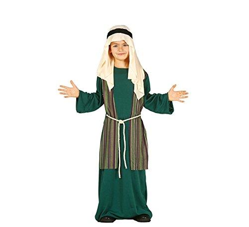 Hirte Kostüm grün Judeo-Arabisch-Krippe 3/4-Jahr-altes Kind (Hirten Krippe Kostüm Kinder)