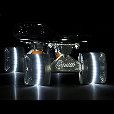 LED Wheels 59mm 78A, color:grey;producer_color:SMOKE