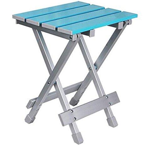 GAOJIAN Chaise Pliante Portable Aluminium Alliage Light Pique-Nique Chaise de pêche Art Portable Selle de Jardin Tabouret Capacité de roulement 120Kg w29cm * H40cm