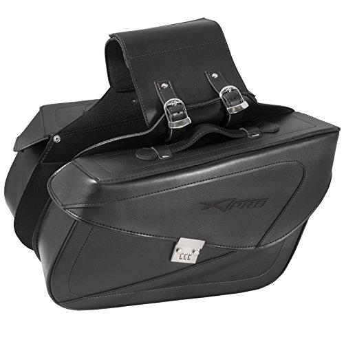 Borse Bisacce Rigide Borse Laterali Custom Moto Universali Nero