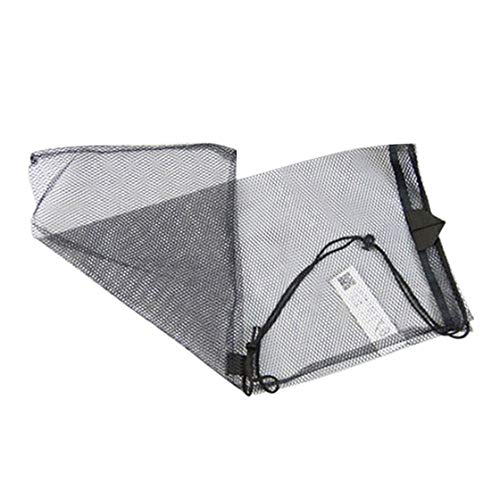 Features:Mesh bag makes fast dry.Suitable for mask snorkel set or dive equipment.Texture is soft, strong and durable, carry comfortable.It can put diving mask, snorkel, diving fins, flippers and other personal belongings. It can be compressed, it ...
