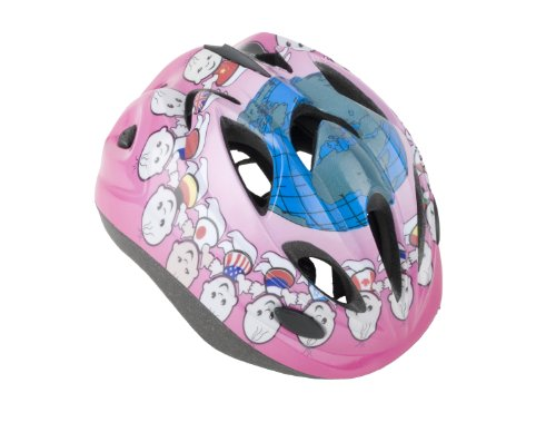 Ideale Kinder Helm, Pink/Welt, 48-52 cm, 67166