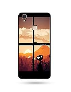 alDivo Premium Quality Printed Mobile Back Cover For Vivo Y51L / Vivo Y51LPrinted Mobile Back Cover (MKD179)