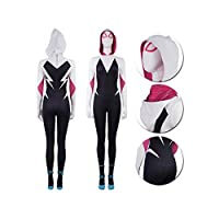 Gwen Stacy Cosplay Costume Suit (Large)