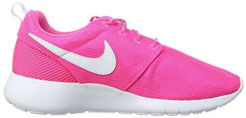 Nike Roshe One (Gs), Baskets Fille Rose (Rosa (Pink Blast/White)Pink Blast/White)