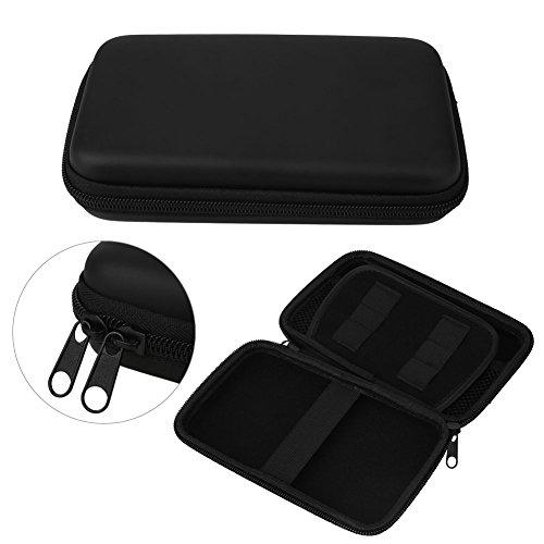 Fenghong Aufbewahrungsboxen, Aufbewahrungsbox Eve Carry Hartschalenkoffer Tasche Tasche Hülle Für Nintendo 3Ds XL Ll 17X10Cm Schwarz