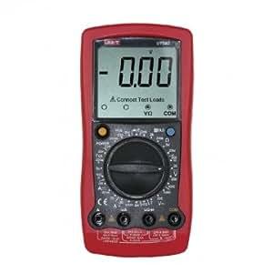 UNI-T UT58D LCD Digital Volt Amp Ohm Capacitance Inductance Multimeter