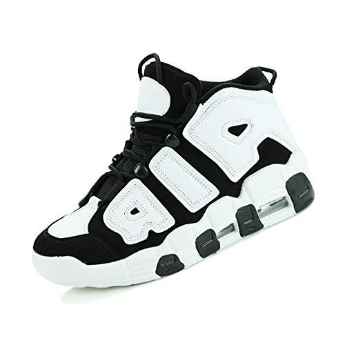 ASDFGH Basketball-Schuhe, hoch zu helfen stoßdämpfung Rutschfeste atmungsaktiv männer und Frauen Sportschuhe Outdoor Laufschuhe Paar Schuhe,A,40 - Männer Jordan Schuhe
